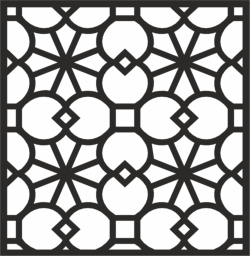 Decorative Panel Design Free Vector Cdr