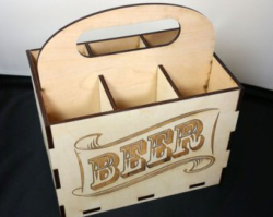 6 Pack Beer Holder Free Vector Cdr