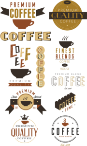 Coffee Vector Set Free Vector Cdr