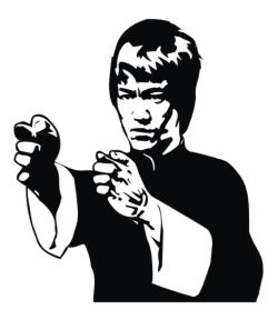 Bruce Lee Vector Free Vector Cdr