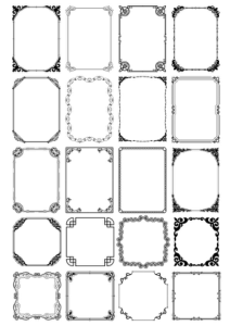 Border Free Vector Art Free Vector Cdr File