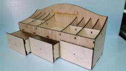Large Desk Organizer Free Vector Cdr File