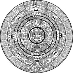 Calendar Mayan Free Vector Cdr