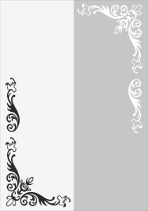 Flower Wall Decal Vector Free Vector Cdr