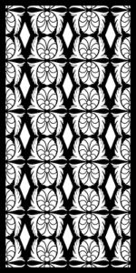 Ottoman stencils Pattern Free Vector Cdr
