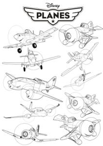 Disney Planes vector art Free Vector Cdr