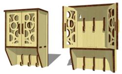 Key Box Free Vector Cdr