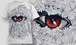 Designious Vector T-shirt Design 539 Free Vector Cdr