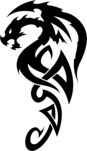 Celtic Dragon Tattoo Vector Free Vector Cdr