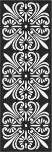 Classic Clipart Motif Free Vector Cdr