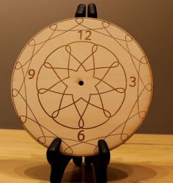 Wall Clocks Plans DIY Free Vector Cdr
