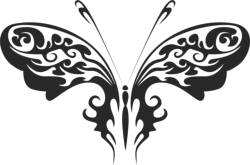 Butterfly Vector Art 030 Free Vector Cdr