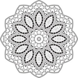 Mandala Design Free Vector Cdr