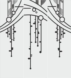 Abstract Art Sandblasting Pattern Vector Free Vector Cdr