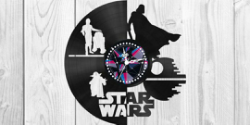 Star Wars Clock Plans Darth Vader Yoda  Free Vector Cdr