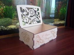 Wood Laser Cut Box Wood Puzzle Box 3mm Free Vector Cdr
