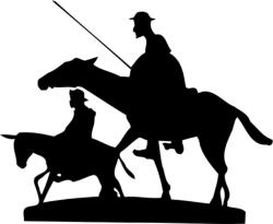 Don Quixote Free Vector Cdr