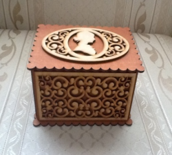 Cameo Box Laser Cut Free Vector Cdr