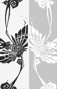 Abstract Drawing Sandblast Pattern Free Vector Cdr