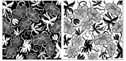 European Art Deco Floral Vectors Free Vector Cdr