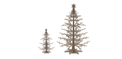 Wooden Jewellery Stand Tree Display Organizer Free Vector Cdr