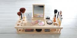Makeup organizer Laser Cut Free Vector Cdr