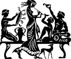 Ancient Greek Vector Art Free Vector Cdr