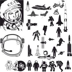 Astronaut Vector Art Free Vector Cdr