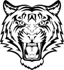 Tiger Head Vector Free Vector Cdr