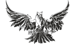 Eagle Attacking Tattoo Design Vector Free Vector Cdr