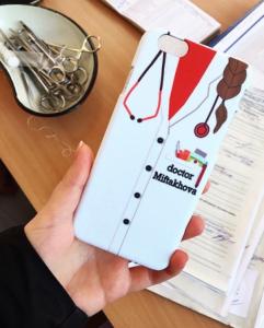 Doctor iphone Sticker Free Vector Cdr