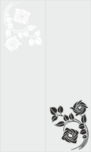 Sandblast Floral Design Free Vector Cdr