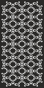 Simple Abstract Black And White Pattern Free Vector Cdr