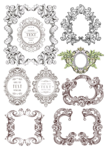 Fancy Border Set Free Vector Cdr