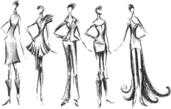 Fashion Silhouettes Free Vector Cdr