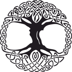 Celtic Tree of Life Vinyl Window Sticker vector Free Vector Cdr