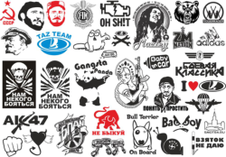 Popular Stickers Pack Vector Free Vector Cdr