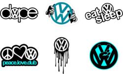 Volkswagen Logo Vectors Free Vector Cdr
