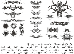 Tribal Vectors Free Vector Cdr