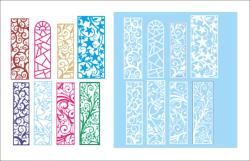 Big bundle of patterns Free Vector Cdr
