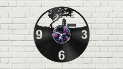 Clock With Couple Free Vector Cdr