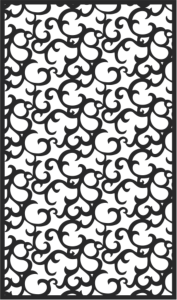 Black Seamless Lace Pattern Free Vector Cdr