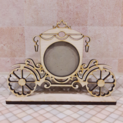Cinderella Picture Frame Free Vector Cdr