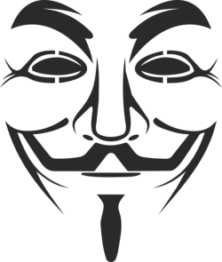Vendetta Mask Logo Free Vector Cdr