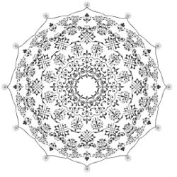 Mandala De Free Vector Cdr