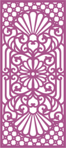 Laser cut jali design Free Vector Cdr