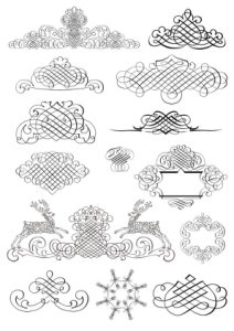 Caligraf Decor Free Vector Cdr