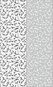 Floral Seamless Sandblast Pattern Free Vector Cdr