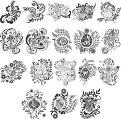 Vector Easter Pattern Free Vector Cdr