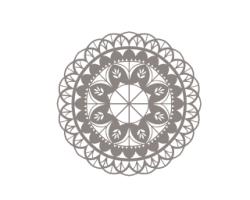 Floral Mandala Vector Art Free Vector Cdr